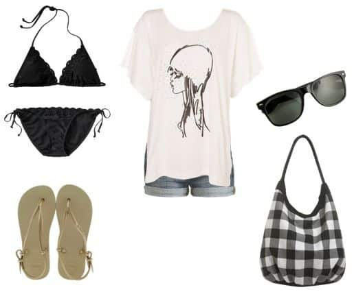 Beach day outfit ideas
