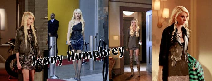 Jenny Humphrey in gossip girl seasons 3 and 4
