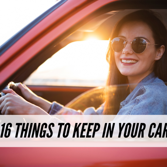 Things to keep in your car