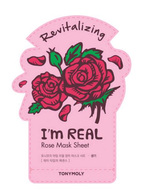 Tonymoly im real sheet mask in Rose