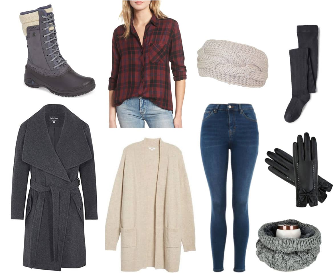 f5bde3119131 What to Wear When It's Really Cold: 4 Outfits for Below-Freezing ...