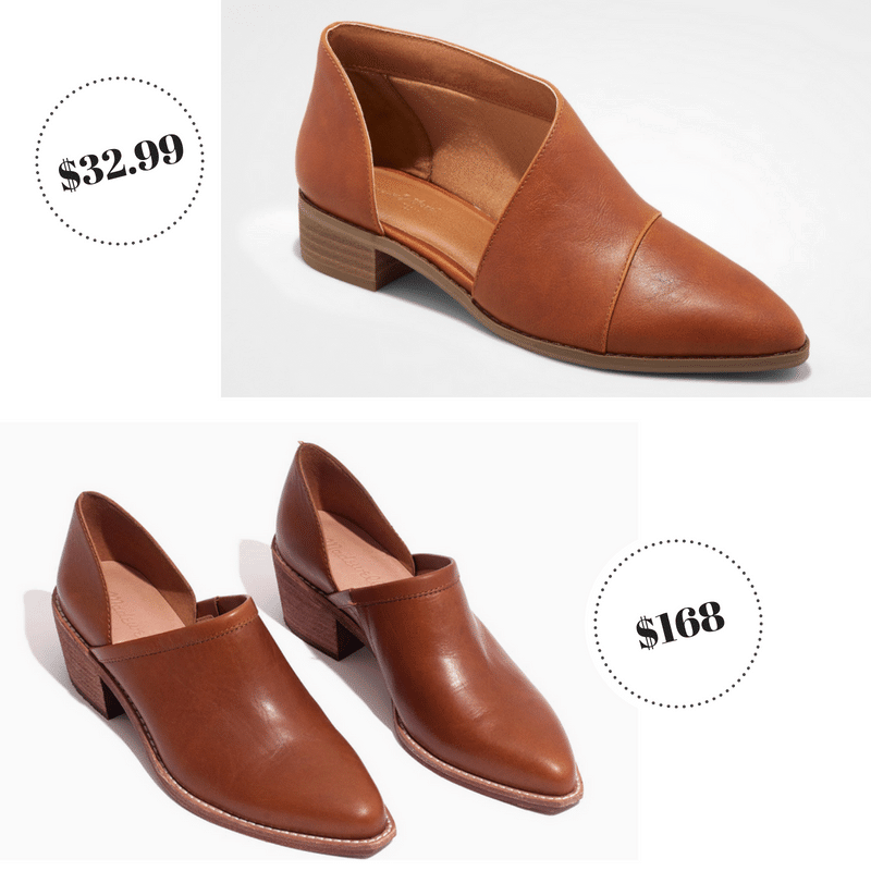 Low cut booties from Target Universal Thread and Madewell