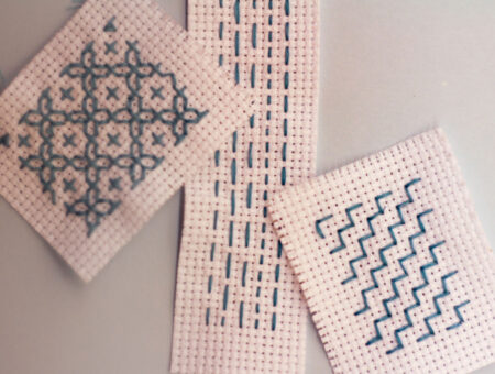 Sashiko embroidery tutorial