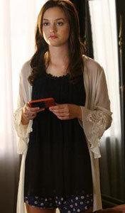 Blair waldorf loungewear - blair in a negligee