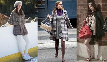 Blair Waldorf tights