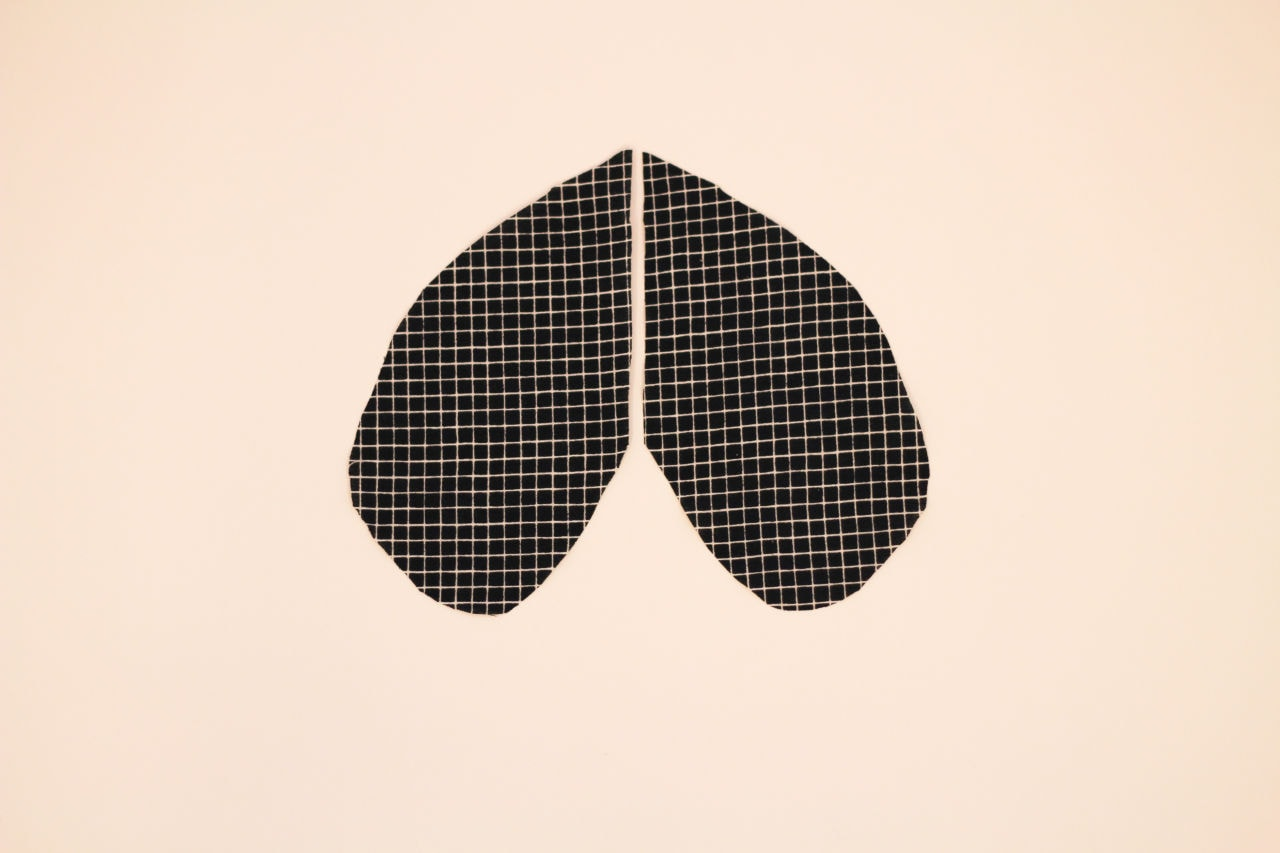 Pocket pattern. Doesn't it look like an upside-down heart?