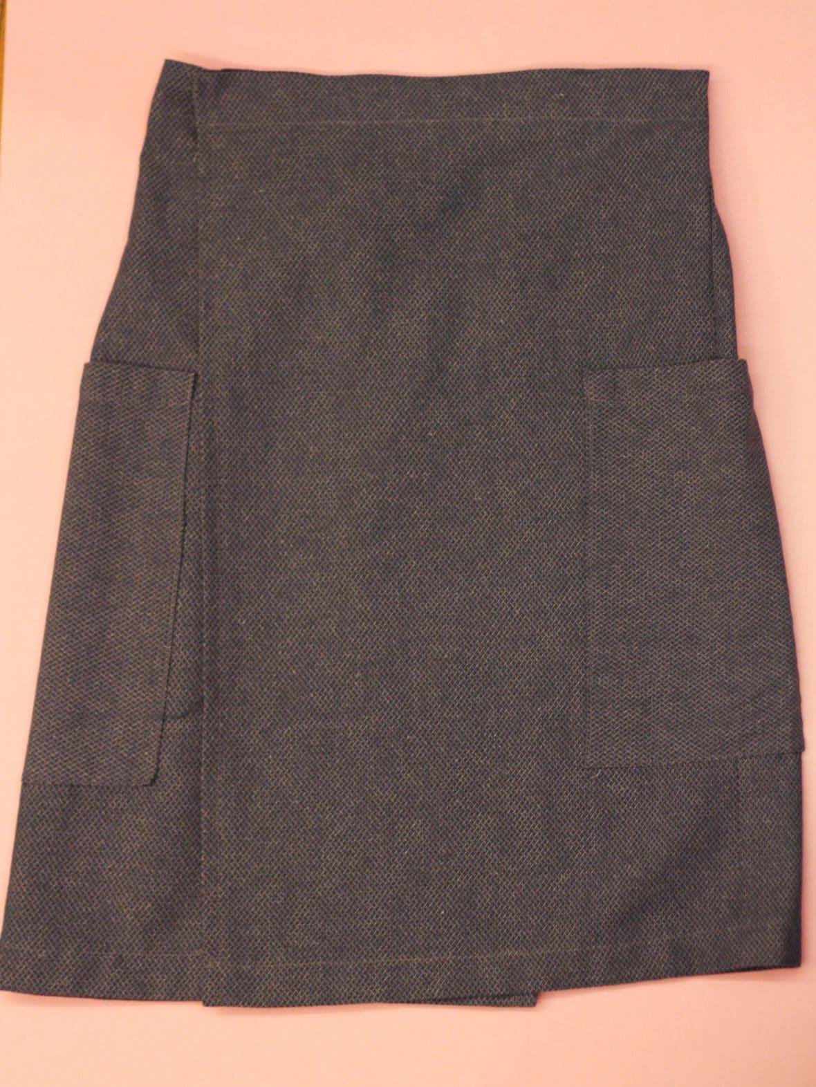 Wrap skirt DIY - how to make a wrap skirt