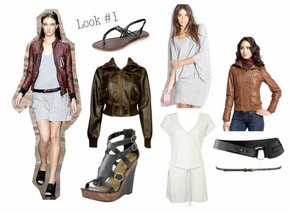 Look inspired by Rag and Bone Spring 2010