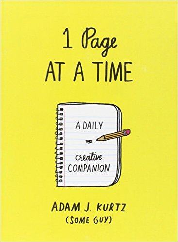 Best guided journals: 1 Page at a Time by Adam J. Kurtz