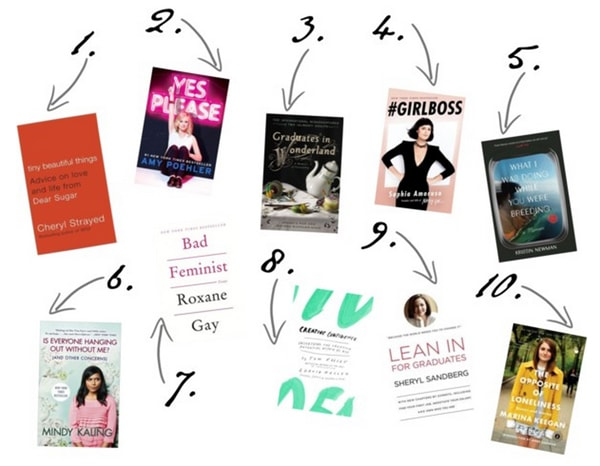 Must Read Books for College Girls