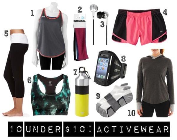 10 under 10 activewear