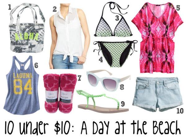 10 under 10 beach day