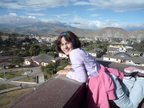 The author visits Quito, Ecuador