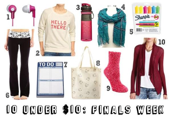 10 Under : Finals Week