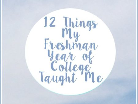 Freshman Year of College Lessons
