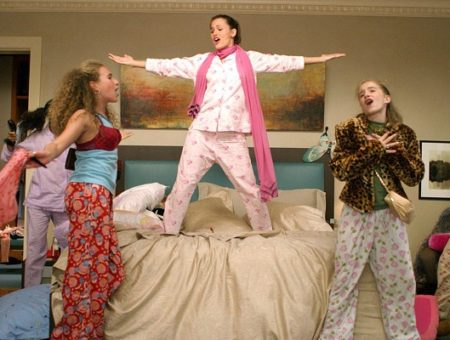 13 Going on 30 Sleepover Scene