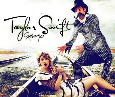 Taylor Swift 'Mean' Album Cover
