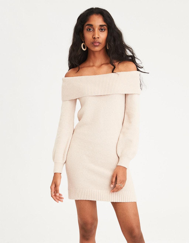 3e62b51ac4b How to Wear a Sweater Dress - College Fashion