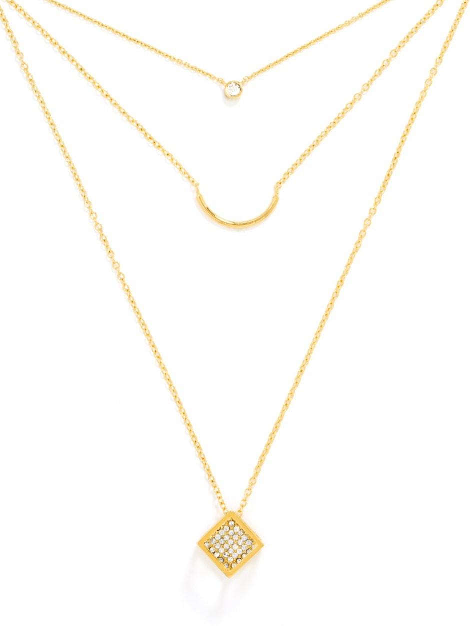 BaubleBar Layered Necklace