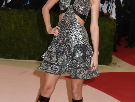 Taylor Swift in Louis Vuitton at the 2016 Met Ball