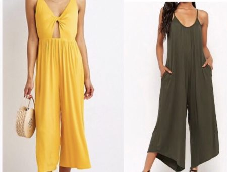 four ways to wear a jumpsuit