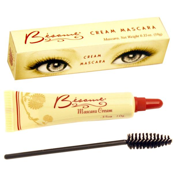 Besame's 1940s cream mascara