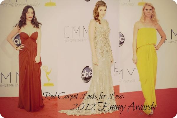 2012 Emmys Fashion Trends