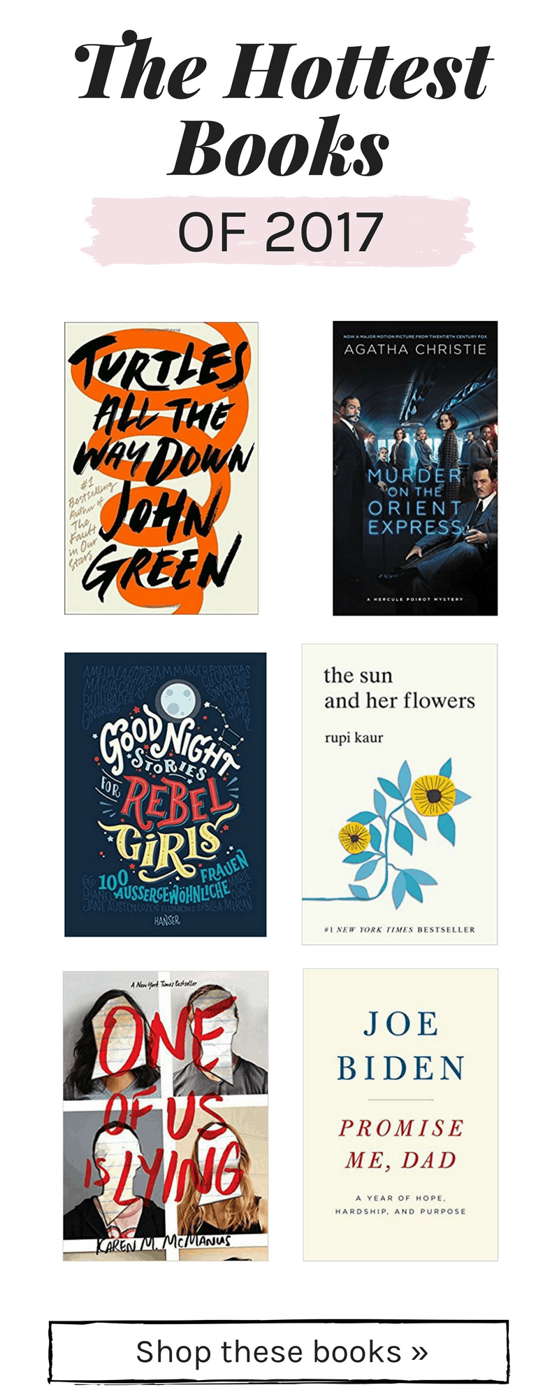 2017 best books: The hottest books of 2017