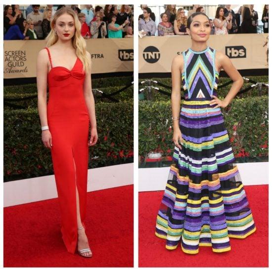 2017 SAG Awards red carpet fashion