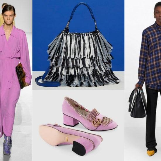 2018 trends: lavender, fringe + plaid