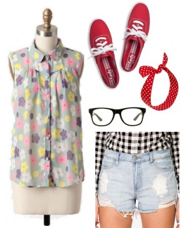 Taylor Swift 22 video fashion - outfit 2