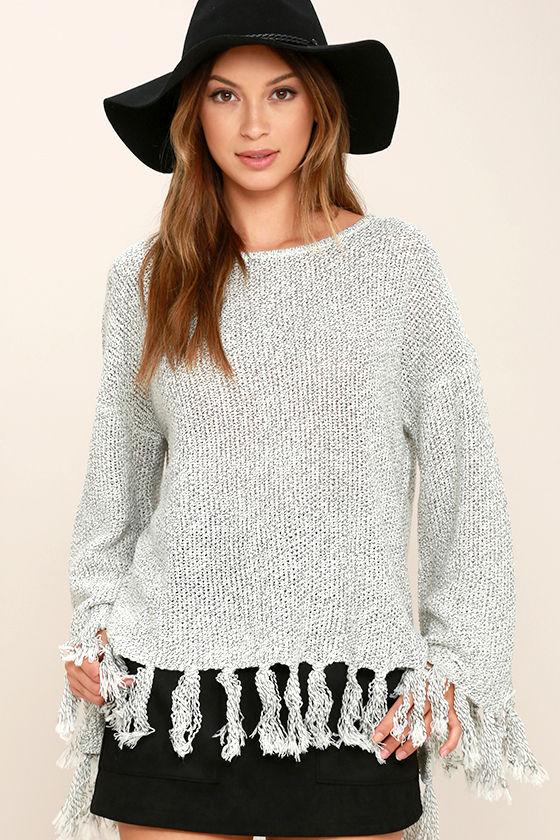 Lulu's Fringed Sweater