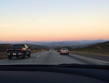 california mountains, driving, roadtrip