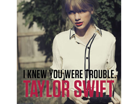 Fashion Inspiration: Taylor Swift's I Knew You Were Trouble