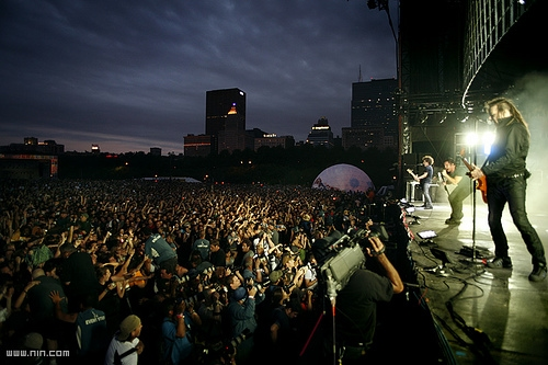 Nine Inch Nails Take the Stage at Lollapalooza
