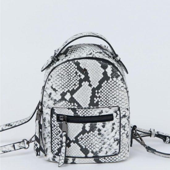 Snakeskin backpack