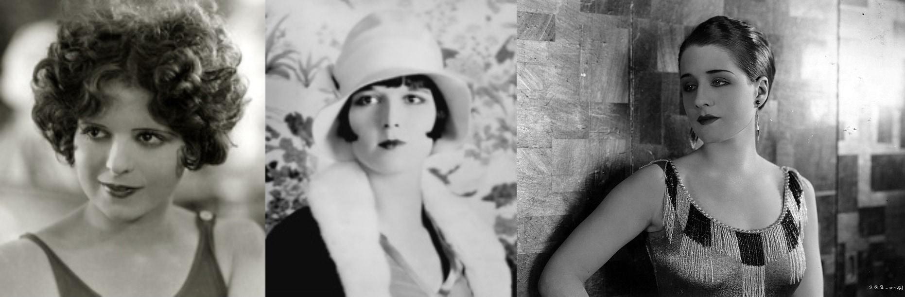 eyebrow trends 1920s