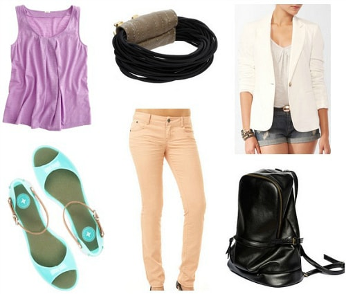 3-1 Phillip Lim Spring 2012 Inspired Outfit 1