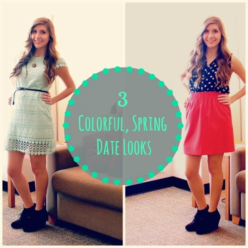 3 colorful spring date looks