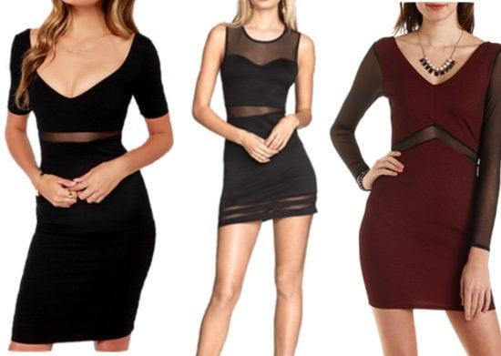 mesh dresses