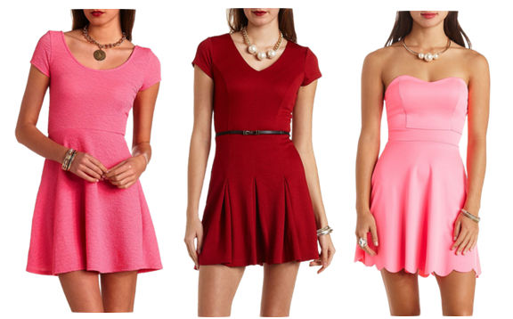 3 Valentine's Day dresses