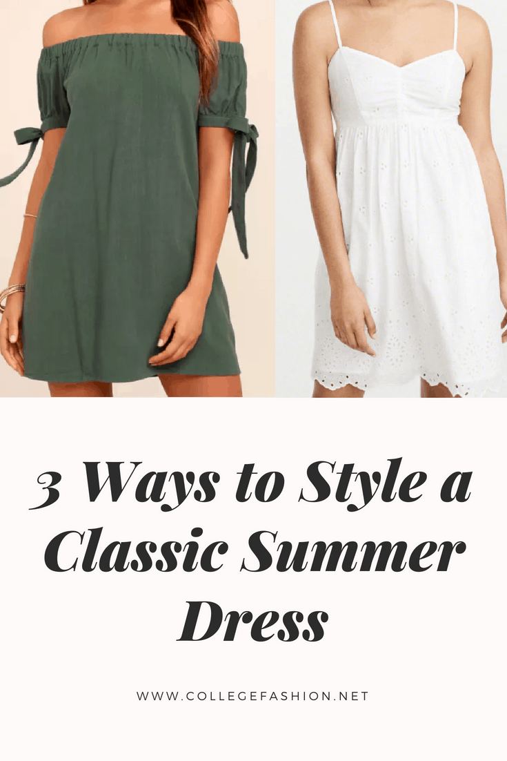 3 ways to style summer dresses cover