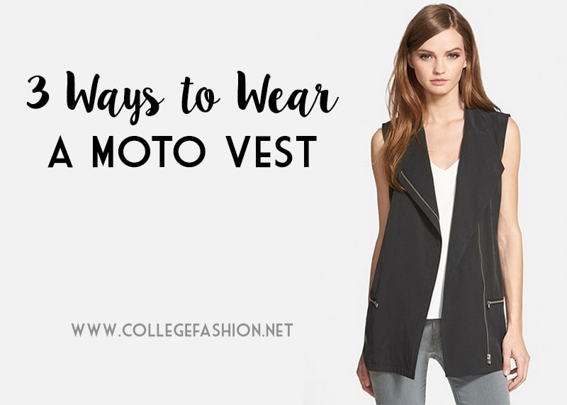 3 Ways to Wear a Moto Vest