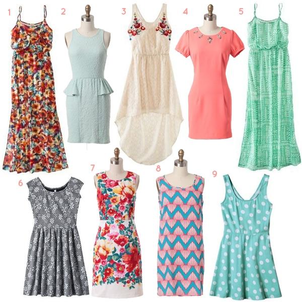 30 under 30 spring dresses