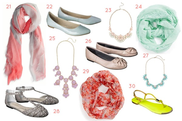30 under 30 spring shoes and accessories
