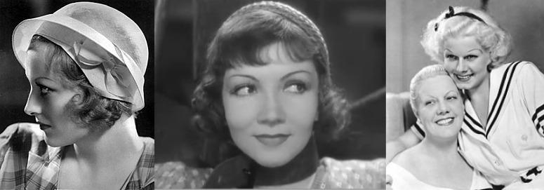 eyebrow trends 1930s