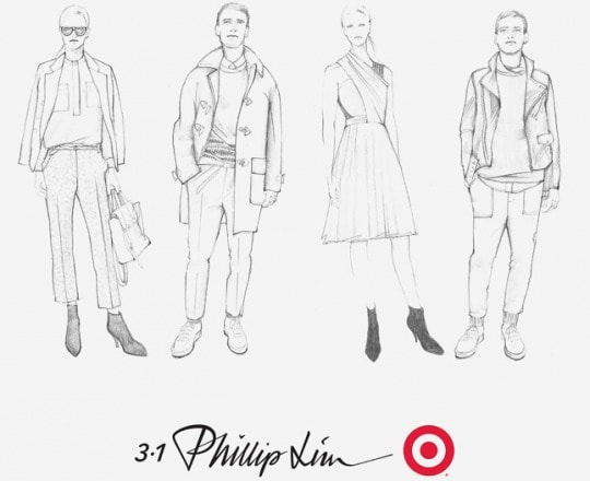 3.1 phillip lim for target sketches