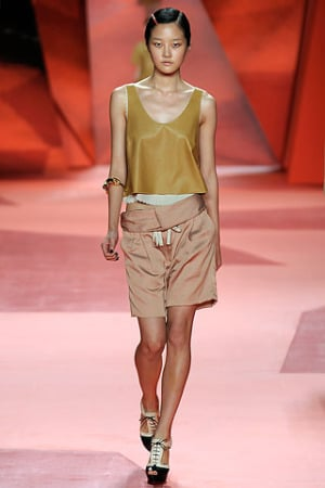 3.1 Phillip Lim Spring 2010 rtw leather tank