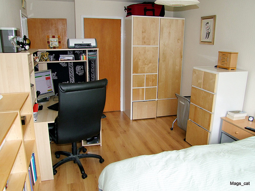 Dorm Room Simple Layout