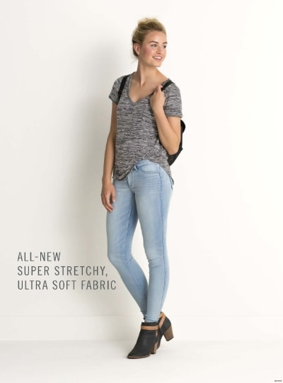 A+F ultra soft stretchy fabric jeans